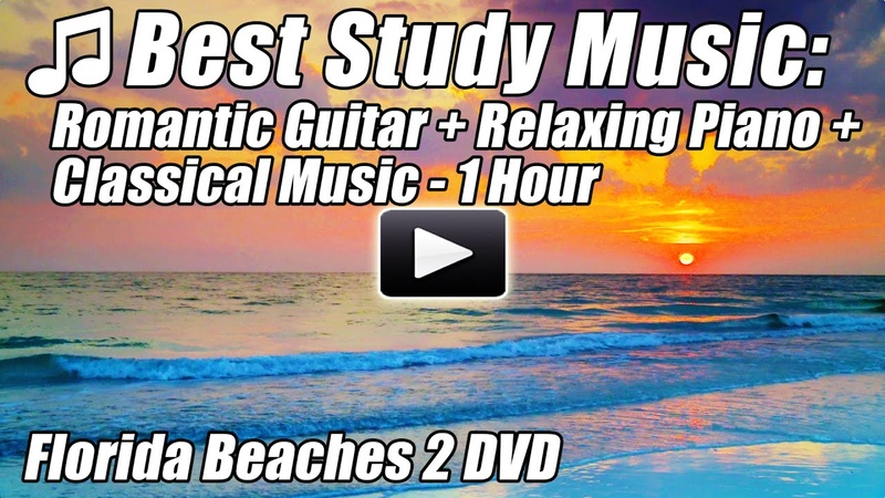 STUDY MUSIC Romantic Spanish GUITAR Relaxing PIANO Songs CLASSICAL Instrumental Relax Studying Best