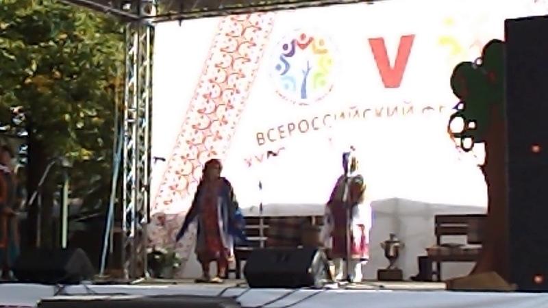 Фольклорный ансамбль из г. Надым, хантыйский танец