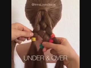 Идеи для плетения кос.