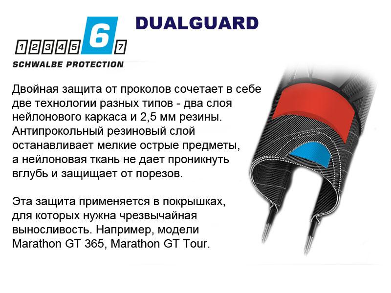 Двойной антипрокольный слой DualGuard