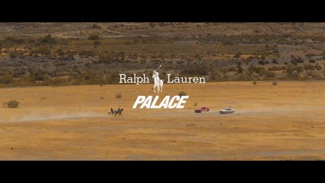 Второй видео лукбук Palace x Ralph Lauren