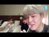ENG+INDO+JAP+POR SUB BTS  Jungkook Jimin and Jin  Kookie+ChimChim+EatJin Show  V APP Live