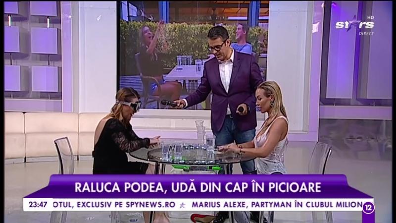 S-a lăsat cu tricouri ude la Agenţia VIP! Raluca Podea şi-a arătat ce are ea mai frumos!