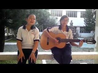 Two girls with fever Vietnam 9x cover Stronger - (Kelly Clarkson) - Lan Anh Ha Uyen ft