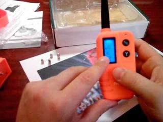 Электронный ошейник для охотничьих собак с бипером 910D от ёэлектроника.рф