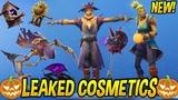 *NEW* Fortnite Leaked Scarecrow Skins & T Pose Emote..!! (Dark Bomber Pickaxe!)