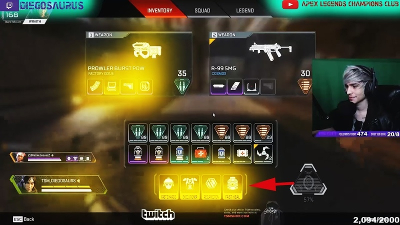 🔴This is What Happens When Diego gets all GOLDEN Loadout | APEX|21 Kills| G119