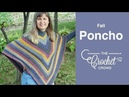 Crochet Fall Poncho