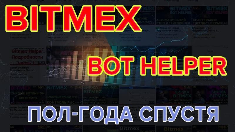 ⚡️ Bitmex Helper: Нам 6 месяцев! Анонс всех уже действующих режимов