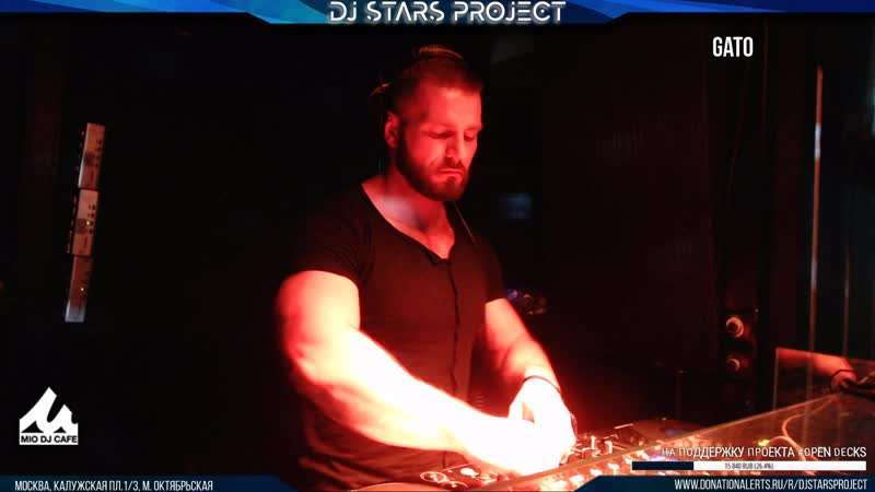 Gato - Dj Stars Project OpenDecks Party 07062019