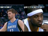2014.03.03 - Kevin Love vs Ty Lawson Battle Highlights - Timberwolves at Nuggets