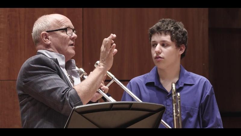 Master Class with Christian Lindberg: Kesem Ninio - Guilmant Morceau Symphonique