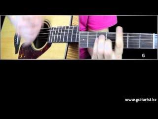 Кипелов - Я здесь (Уроки игры на гитаре Guitarist.kz)