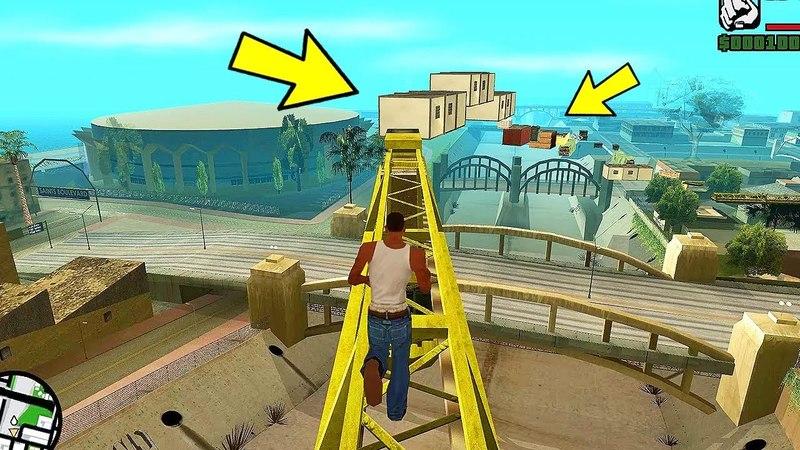 Попробуй как я, пройди до конца этот длинный паркур GTA San Andreas!