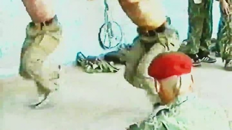 Сдача на краповый берет ГСН Цербер ВЧ 3753 1998 год