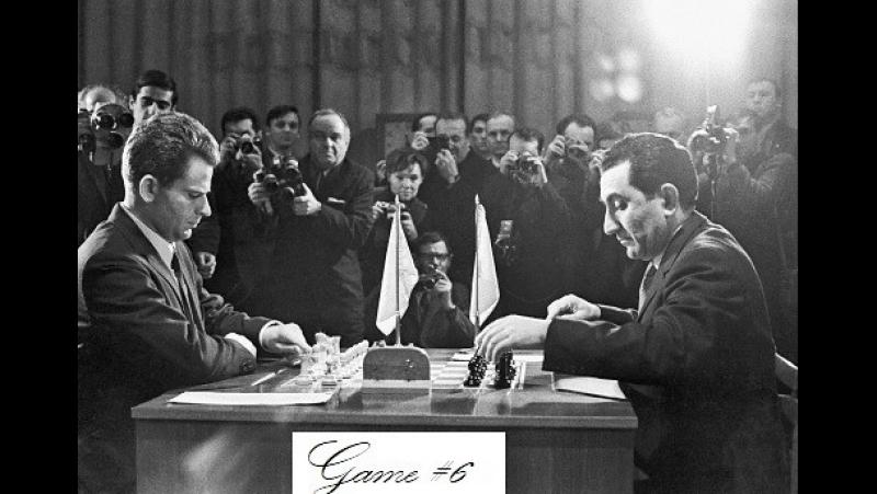 Petrosian Tigran - Spassky Boris, Moscow 1969, Game 6