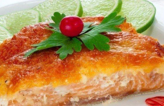 Горбуша запеченная с овощами в духовке рецепт пошагово