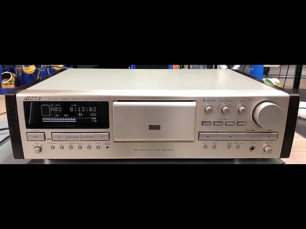 The very rare Victor ZD V919 Digital Compact Cassette