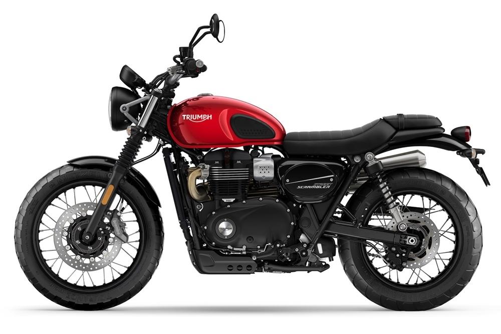 Мотоцикл Triumph Street Scrambler 2019