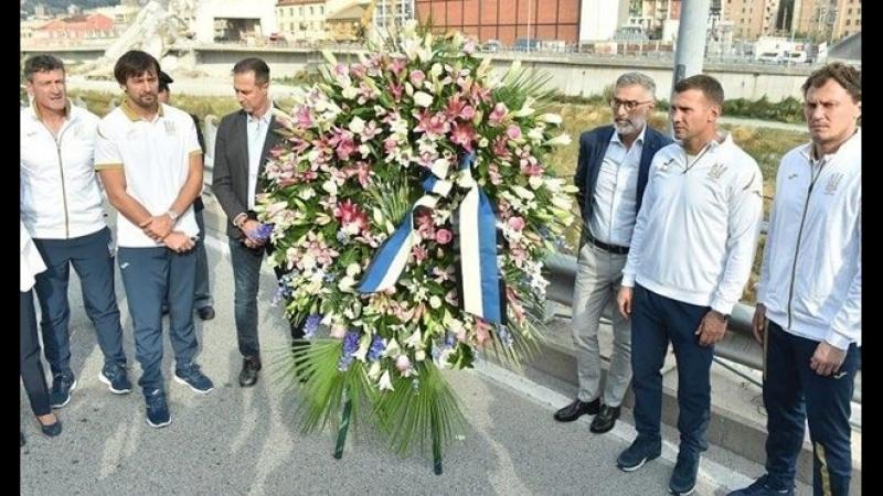 Shevchenko, Shovkovskiy, Tasotti on Ponte Morandi Genova