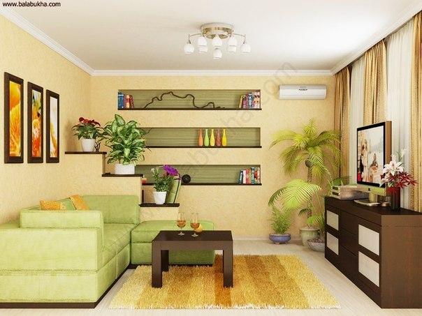 Идея для небольшой гостиной (1 фото) - картинка