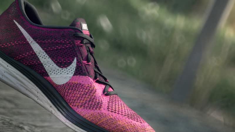 Кроссовки Nike Rise React Flyknit LMTD Стремительные желтые