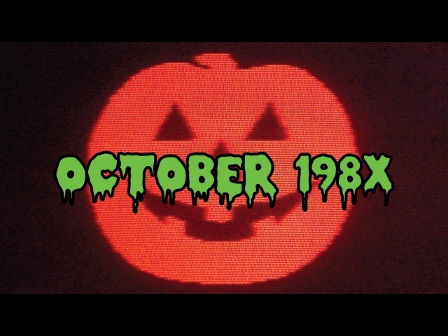 October 198X Vol. 1: Synthwave Mix with 80's Halloween Commercials