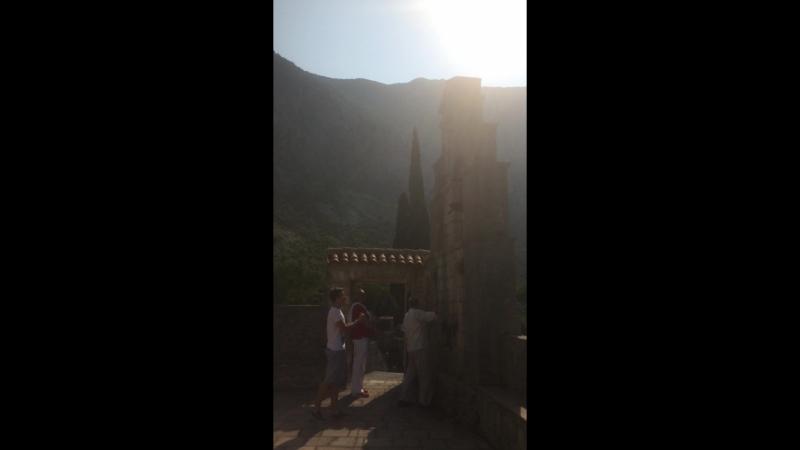 на службе в храме св Георгия