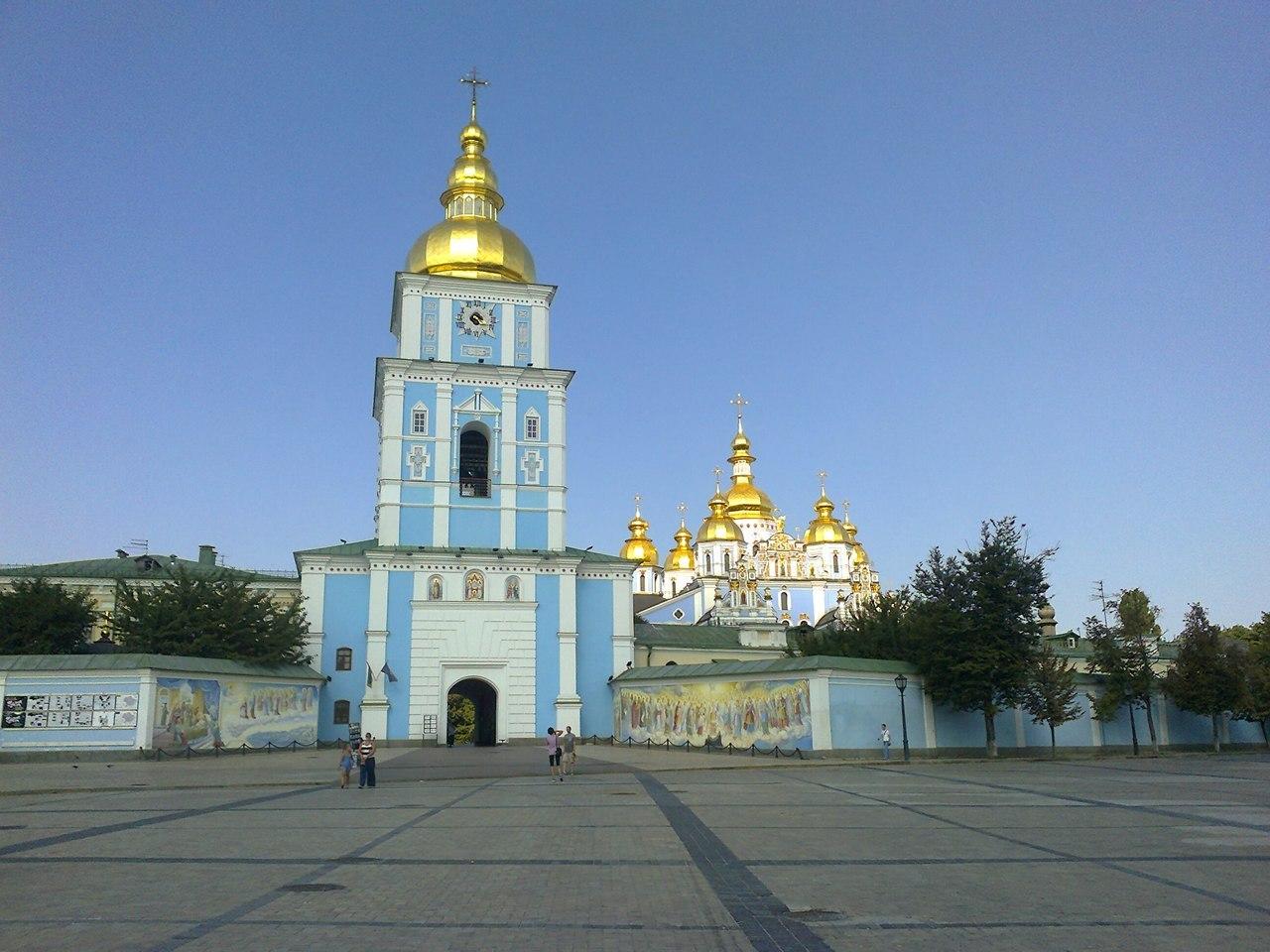 Михайловская церковь на Михайловской площади в Киеве