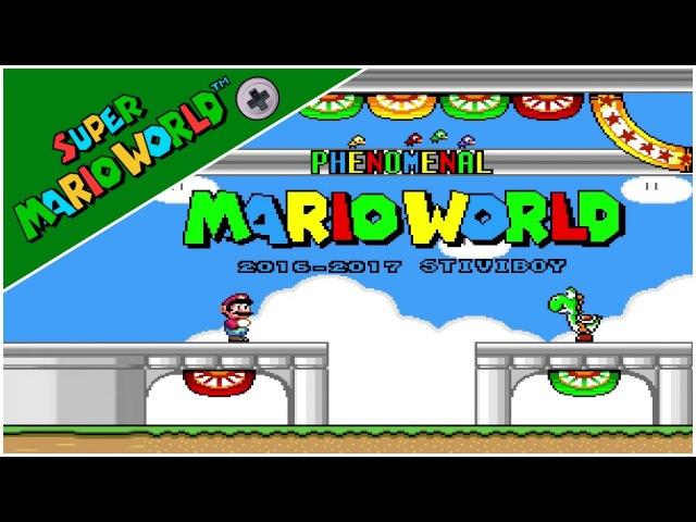 Phenomenal Mario World (Demo) (2016) | Super Mario World Hack