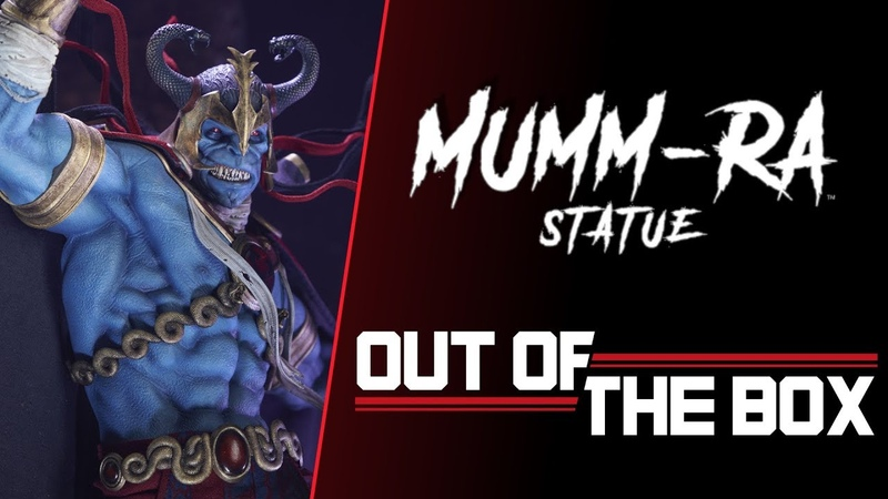 Mumm Ra Statue Exclusive Edition Out of the Box