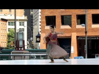 Rukmini Vijayakumar at Downtown Dance Festival NYC