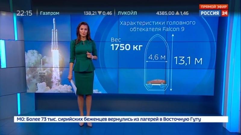 Компании Илона Маска снова не удалось поймать сетью часть ракеты