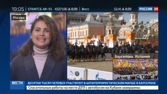 Новости на Россия 24 • У стен Кремля стартовал фестиваль Спасская башня