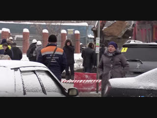 На ферганской улице в москве образовался огромный провал - прямой эфир