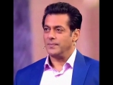 salman_khan_fan_page) on Instagram SalmanKhan gets emotional on his Father's message... watch this message on DusKaDum . . .