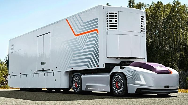 Volvo Next-Generation Semi-Truck - 10 Future Trucks Buses in The World