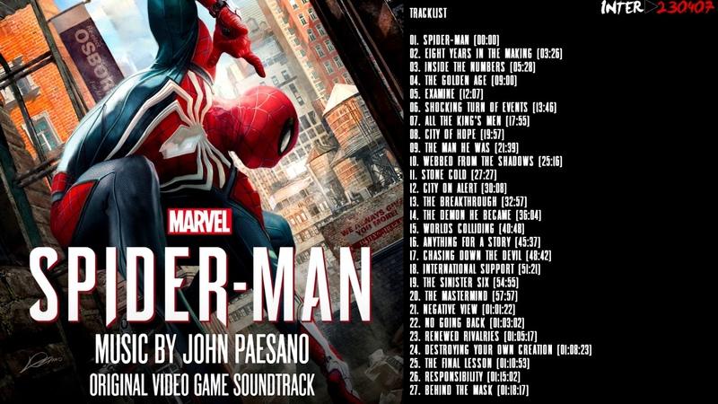 Marvel's Spider-Man - Full Original Soundtrack