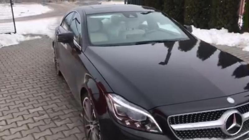 Пригнали під розмитнення з Німеччини Mercedes-Benz CLS 250 2014 року (дизель) за 35 000 євро