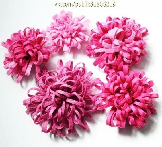 ✨ Как быстро и легко сделать красивый цветок из фетра ============================== ✂ #hand_made #сделай_сам #мастер_классы