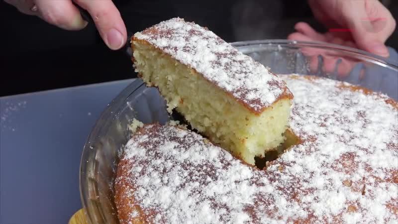 Манник на кефире Самый удачный рецепт Всегда воздушный и вкусный Pie of sem