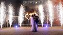 KRYPTOS - огненные сердца, 6 пирофонтанов, сценический свет. Салют Иваново. Фейерверк на свадьбу