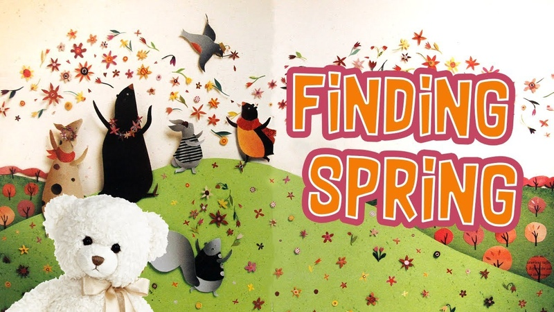 Kids Book Read Aloud - Finding Spring by Carin Berger - Storytime With Ms. Becky