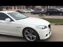 BMW F10 brake light flashing