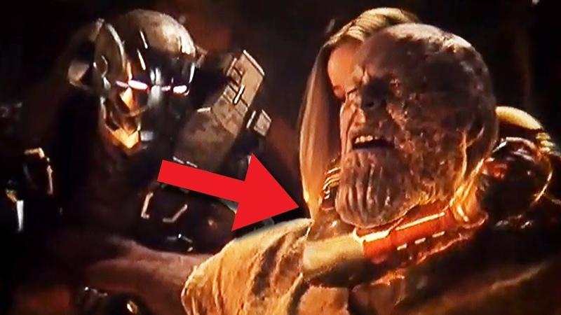 Только взрослые фанаты поняли эту сцену с Таносом в Мстители 4 Финал