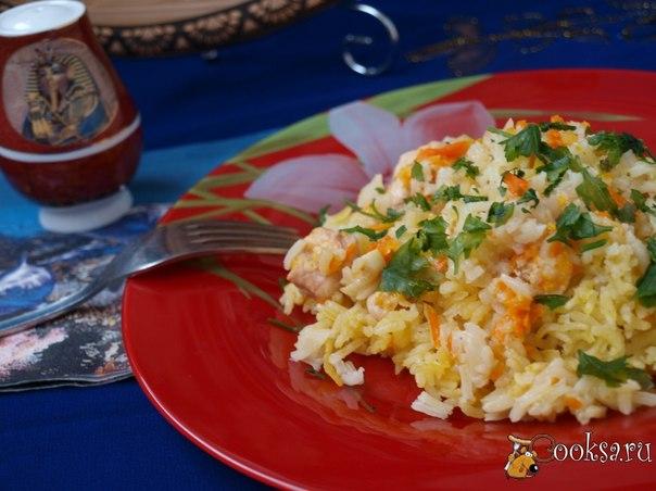 Замечательное и простое блюдо на каждый день.Рис получается ароматный и вкусный.