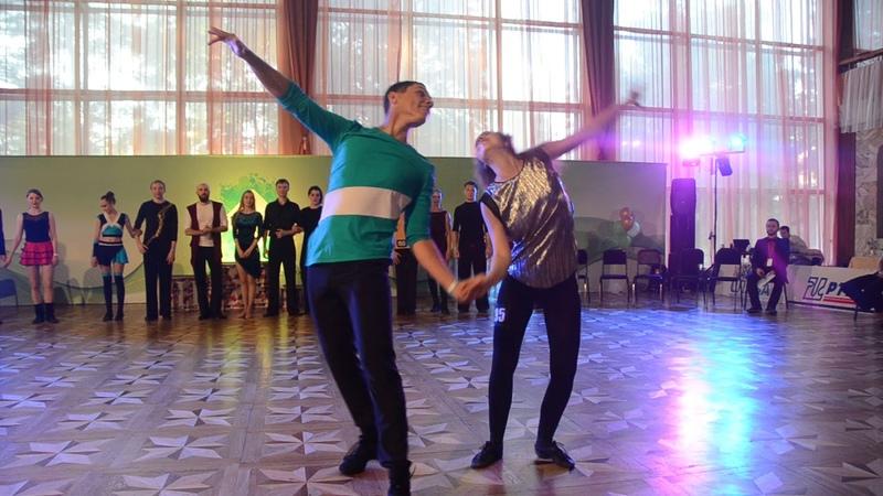 ХАСТЛ, Discofox, Siberian Fest 2018, ДнД Beginner, финал