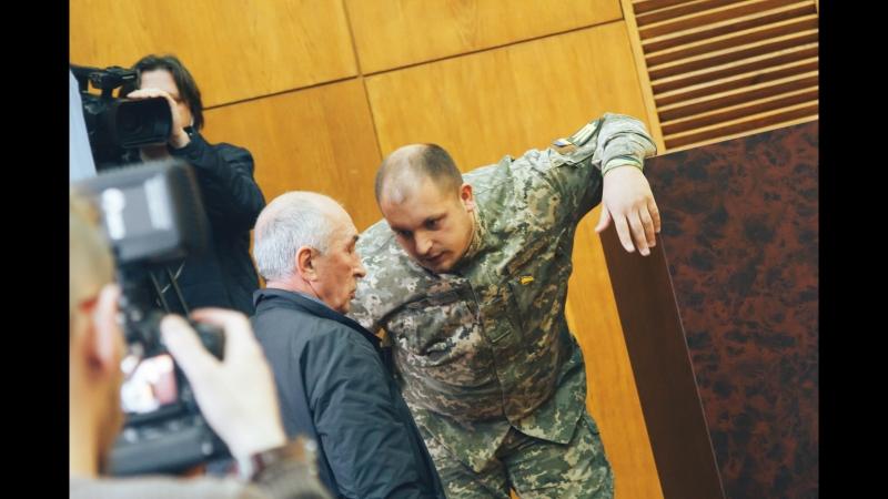 Бійка між Артемом Семеніхіним та депутатом Олександром Кирієм