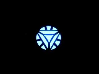 Ironman EL T-Shirt (Triangle Arc Reactor) by LightingFashion