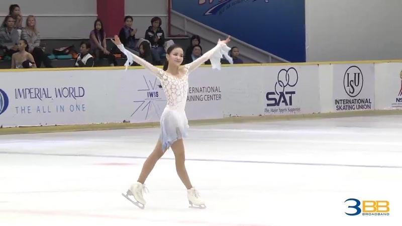 Eunsoo LIM. Asian Open 2018, SP